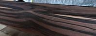 縞黒檀化粧柱 - SOLiD「無垢材セレクトカタログ」/ 材木店・製材所 新発田屋(シバタヤ)