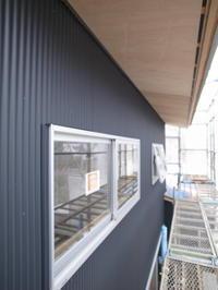 新河岸の家 外壁確認 - 早田建築設計事務所 Blog