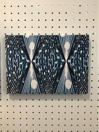 vintage fabric panel (SWEDEN) - hails blog