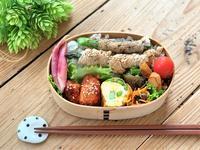 アスパラの豚肉巻きのお弁当とおうちごはん - おだやかなとき