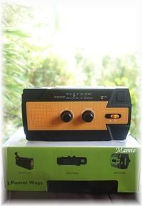 多機能防災ラジオを買いました - おだやかに たのしく Que Sera Sera