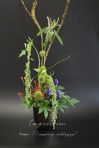 定期装花からリンドウ:安代の輝き - Impression Days