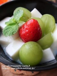 牛乳寒 - nanako*sweets-cafe♪