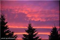 秋の夕陽 - 北海道photo一撮り旅