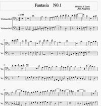 オルランド・ディ・ラッソの「12 Fantasia」 - 黒猫チッチのひとりごと