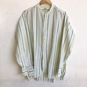 1920's Lion Shirt Change Collar Dress Shirts - AURA clothing & antiques