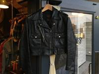 50's H-D Cycle Queen motorcycle jacket - BUTTON UP clothing