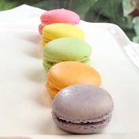 5色のマカロン - 調布の小さな手作りお菓子教室 アトリエタルトタタン
