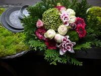 21年目のご結婚記念日にアレンジメント。2020/09/15。 - 札幌 花屋 meLL flowers