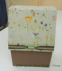 「ソーイング・ビー2」2週目 - Vine's Note -ボビンレース&ファブリックボックス-