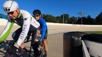 タンデム・ピストバイクFlying 500メートルトレーニング - アメリカを自転車でエンジョイ