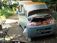 2020/9/20今日の島暮らし/久々に車を手塗りした - 能古島の歩き方