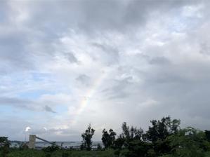 虹が出てハッピー🎶お天気回復!!       宮古島 - たのしくいこぉ