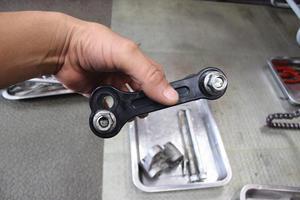 洗車点検を残しD-TRACKER250作業は完了 - モトアサイン
