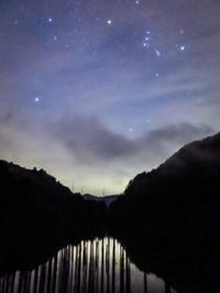 2020.9.21自然湖の夜と早朝の景観(王滝村) - ダイヤモンド△△追っかけ記録
