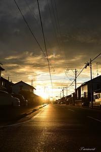 静かな朝 - 今日の空+α2