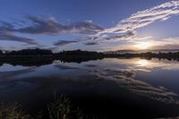朝の大池(奈良県・勝間田池) - 花景色-K.W.C. PhotoBlog