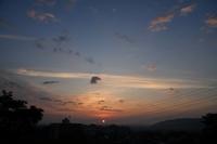 今朝の空 - 光画日記2