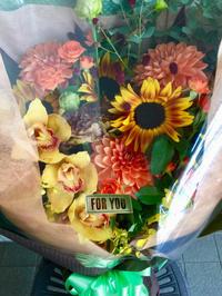 大きめの花束 - お花は幸せの贈りもの~Sweet Lees