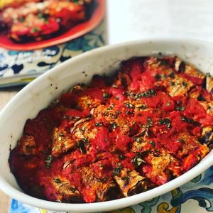 シチリアのおうちごはん、ナスのインボルティーニ - 幸せなシチリアの食卓、時々旅