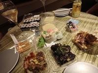 お部屋で夕食@SORANO HOTEL(ソラノホテル) - 旅はコラージュ。~心に残る旅のつくり方~