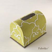 ドーム型ティッシュボックスキットができました - Fabrikoのカルトナージュ ~神戸のアトリエ~