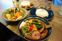 Rojiura Curry SAMURAI.で野菜20品目カレー - *のんびりLife*