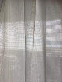 透けないレースカーテン - ONE MORE ALOHA  with pau~私の作業部屋~