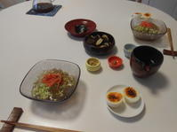 9月前半の昼ごはん - のび丸亭の「奥様ごはんですよ」日本ワインと日々の料理