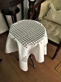 ドロンワークティー用テーブルクロス330 - スペイン・バルセロナ・アンティーク gyu's shop