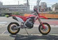 F田サン号 CRF450Lのタイヤ交換やブレーキメンテからのフォルツァのオイル交換やら・・・(#^.^#) - バイクパーツ買取・販売&バイクバッテリーのフロントロウ!