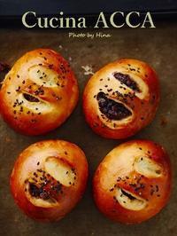 自家製の粒あんパン - Cucina ACCA(クチーナ・アッカ)