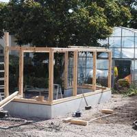 先週の工事は(6週目) - sola og planta ハーブを育てながら