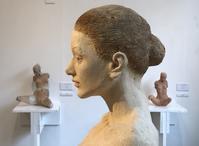 小山夏比古彫刻展を見る - 蒼々日記