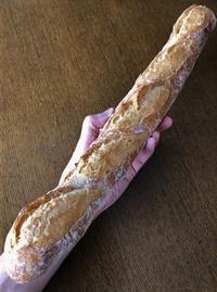 きぬあかりのバゲット - slow life,bread life