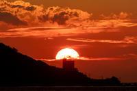 日の出g5 - 雲空海