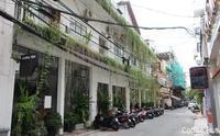 24. レンガの壁は残った / Coffee Hut - ホーチミンちょっと素敵なカフェ・レストラン100