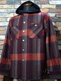 Bluco ブルコ フード付き長袖 ネルシャツ ・ノーカラー キルティングジャケット入荷 - ZAP[ストリートファッションのセレクトショップ]のBlog