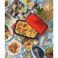 毎日のお料理~おうちパーティまで様々なシーンで活躍する食卓の主役が、4~5人で愉しめるグランデサイズに。 - GLASS ONION'S BLOG