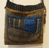 古布を使った新作のバッグが完成しました♪ - 紅い風