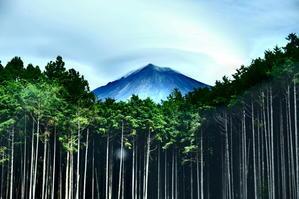 ずっと眺めていたい富士山。 -