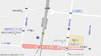 小平3・4・10号小平大和線(小川駅南側)着手前の状況2020.9 - 俺の居場所2(旧)