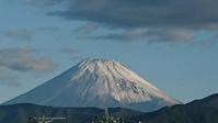 9月28日初冠雪かな!今朝の富士山です - 楽しく元気に暮らします
