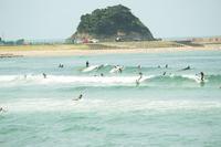 9月29日 京都・八丁浜へサーフィン - 月曜日は時々サーフィン・カリアゲクンのブログ