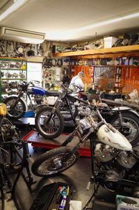 月曜日の授業風景~ケースが来たぞ~ - Vintage motorcycle study