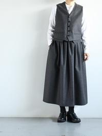 ASEEDONCLOUDElves Dress / Wedding Loden 100% Wool - 『Bumpkins putting on airs』