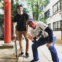 スケートボード世界チャンピオンのプロモを撮りました - リカヤ超特急