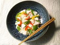 水キムチの散らし寿司 - Minha Praia