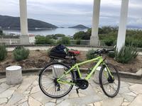 小豆島のアップダウンにブリジストン電動自転車は、、、、 - 旅と数学  それとdiy