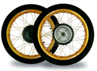 クロスカブ用EXCELリムセット - バイクの横輪